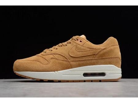 Nike Air Max 1 Premium 'Wheat' Flax/Flax-Sail-Gum Medium Brown 875844-203 Men Women