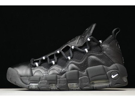 Nike Air More Money 'Trust Fund Baby' Black/Metallic Silver-Black AJ2998-002 Men Women
