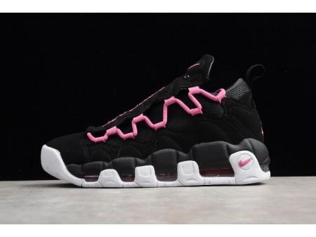 Nike Air More Money QS Black/Fuschia-White Shoes AJ7383-001 Men Women