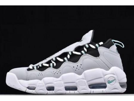 Nike Air More Money Wolf Grey/Black-Island Green AJ2998-003 Men Women