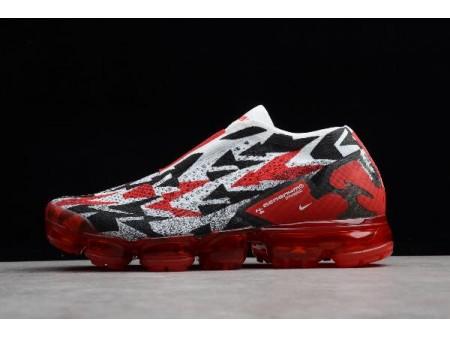 Nike Air Vapormax FK Moc 2 University Red/White-Black AQ0996-800 Men