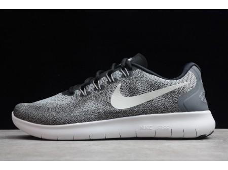 Nike Free RN 2017 Wolf Grey/White Running Shoes 880839-002 Men