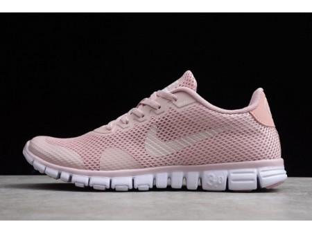 Wmns Nike Free Rn 3.0 V2 Light Pink/White 806568-009 Women
