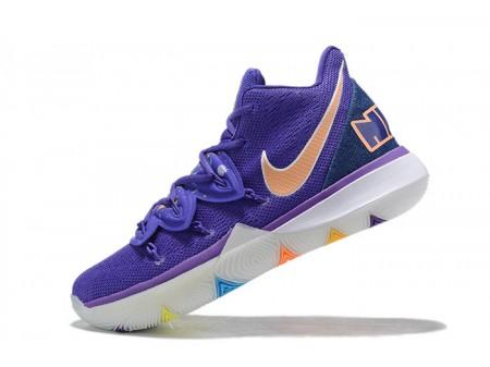 Nike Kyrie 5 'Have A Nike Day' Glacier Blue/Purple/Gold/White Men