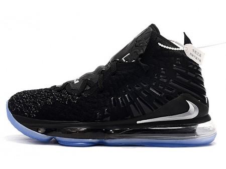 Nike LeBron 17 Black/Metallic Silver Men Women
