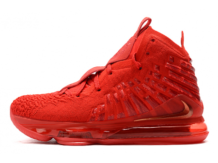 Wmns Nike LeBron 17 'Red Carpet' University Red BQ3177-600 Women