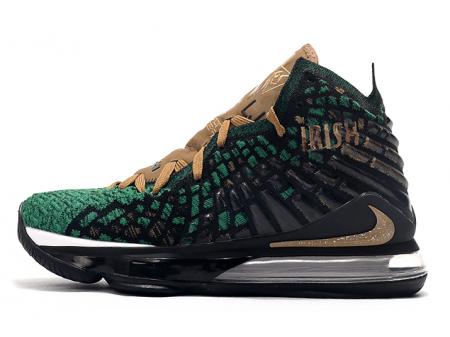 Nike LeBron 17 SVSM PE Forest Green/Black-Gold Men