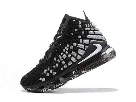 Nike LeBron 17 XVII EP Black/White Men