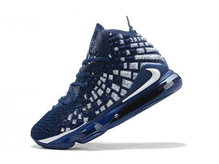 Nike LeBron 17 XVII EP Navy Blue/White-Black Men
