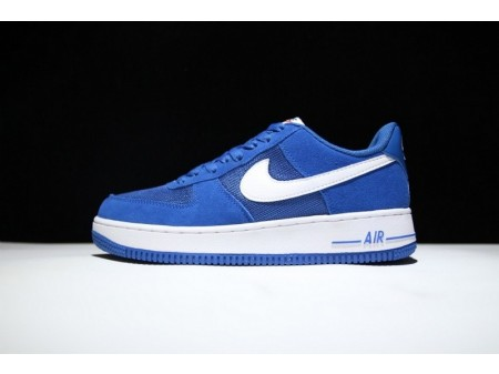 Nike Air Force 1 Low Star Blue and White 820266-402 for Men