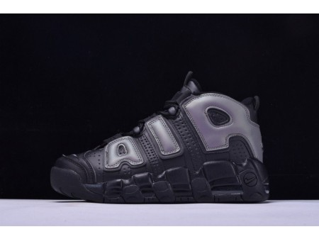 Nike Air More Uptempo Air Black 414962 for Men and Women