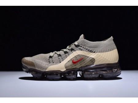 Nike Air VaporMax Flyknit Anti-fur Golden Brown 759234-606 for Men and Women