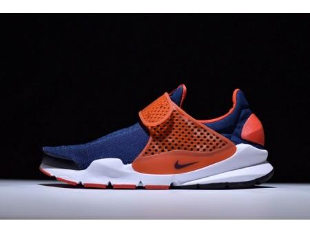 Nike Sock Dart Midnight Navy & Max Orange 819686-402 for Men