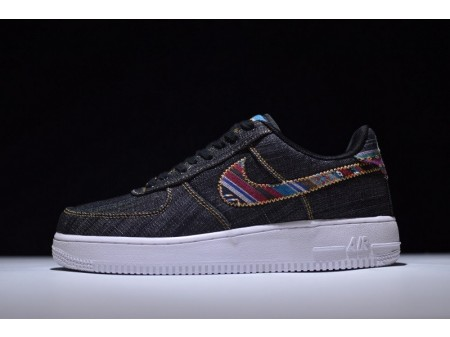 Nike Air Force 1 07 Lv8 Dark Obsidian 823511-402 for Men and Women