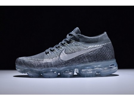 "Nike Vapormax Flyknit ""Asphalt Grey"" 849558-002 for Men and Women"