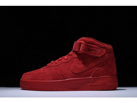 Nike Air Force 1 Mid 07 Gym Red October 315123-609 for Men and Women
