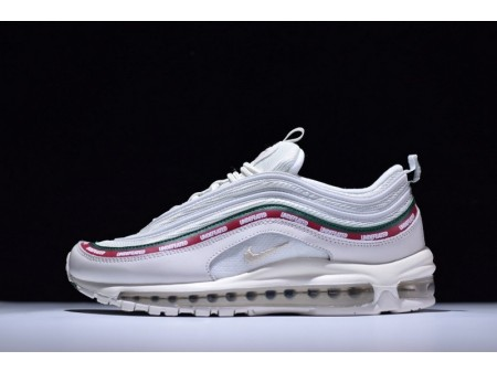 Nike Air Max 97 UNDEFEATED White AJ1986-100 for Men and Women