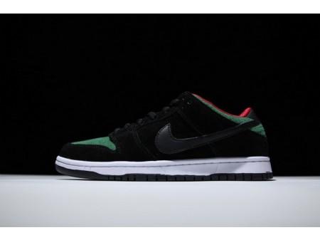 Nike Dunk Low Pro Sb Green Cork Black-Green Reptile 304292-055 for Men