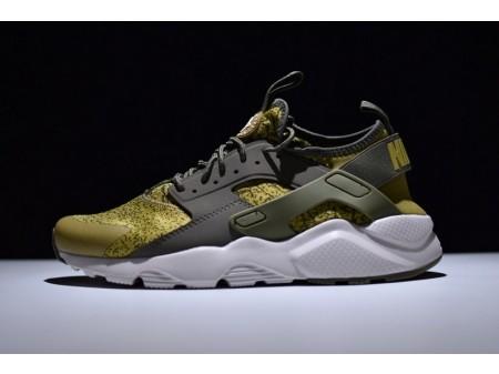 Nike Air Huarache Ultra Run Id Olive 753889-995 for Men and Women