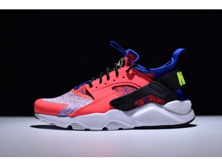 Nike Air Huarache Ultra Run Id Pink/Blue 753889-996 for Women