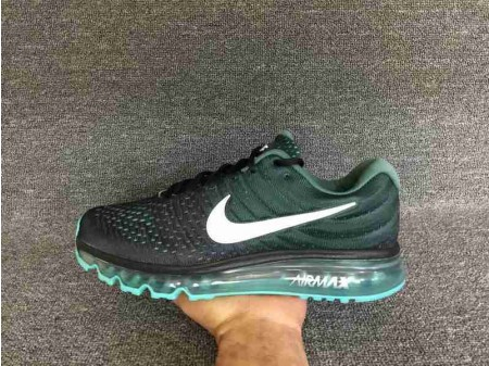 Nike Air Max 2017 Black/Green Stone 849559-002 for Men