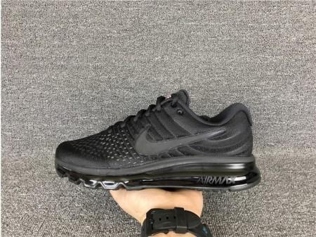 Nike Air Max 2017 Black Grey 855615-995 for Men