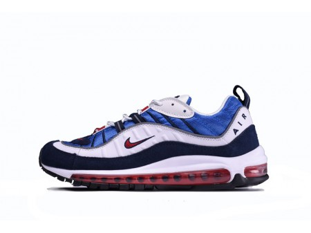 """Nike Air Max 98 """"Blue White Red"""" 640744-064 for Men"""