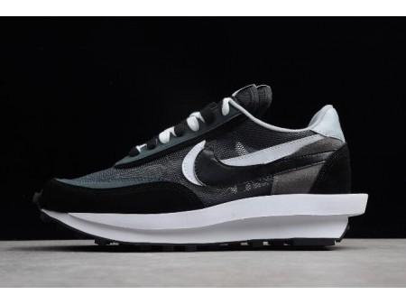 Sacai x Nike LDV Waffle Hybrid Black White Shoes Men