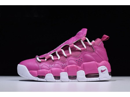 Sneaker Room x Nike Air More Money QS 'Breast Cancer Awareness' Think Pink/White AJ7383-600 Men Women