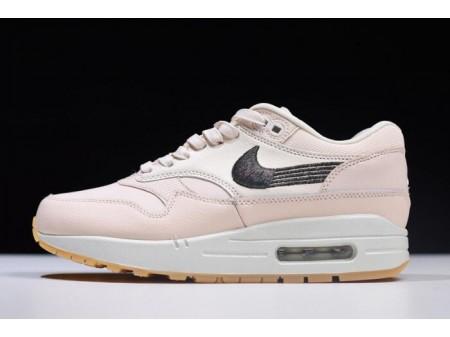 Nike Air Max 1 Premium Guava Ice/Gum Yellow/Off-White 454746-800 Women