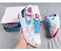 Parra x Nike Custom Air Force 1 Low Blue/Gray Men Women AR6786-100