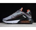 Nike Air Max 2090 Silver Grey/Black-Orange CT7698-012 Men Women