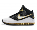 Nike LeBron 7 Black White Gold Men