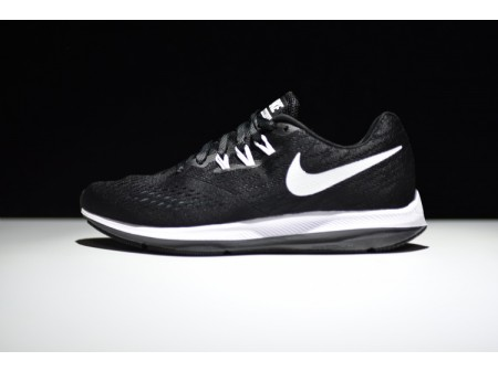 Nike Zoom Winflo 4 Noir/Blanc Anthracite 898466-001 Homme