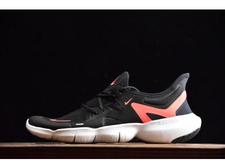Nike Free Rn 5.0 Noir Orange 2019 AQ1289-102 Homme