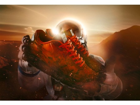 "Nike Air Max 90 ""Mars Landing"" 3M Orange CD0920-600 Homme"