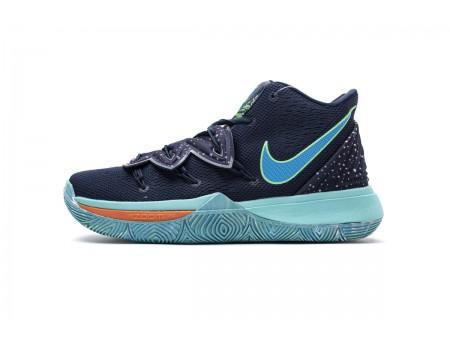 Nike Kyrie 5 EP UFO Obsidian Current Bleu AO2919 400 Homme