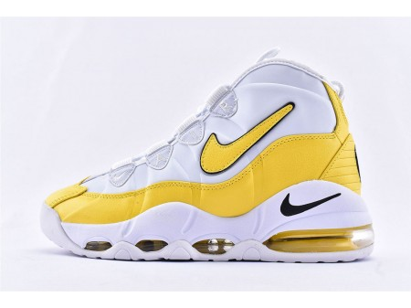 Nike Air Max Uptempo 95 Lakers Blanc Jaune CK0892-102 Homme