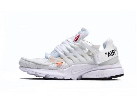 Off White x Nike Air Presto 2.0 Blanc pour Femme et Homme