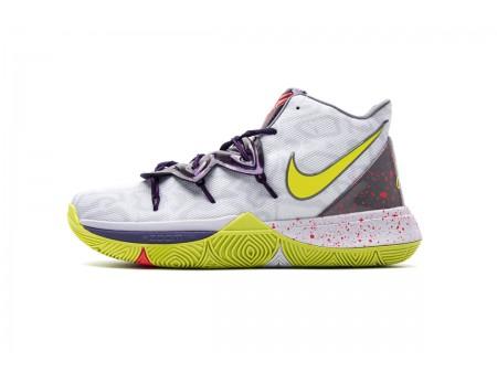 Nike Kyrie 5 EP Mamba Mentality Vert Blanc Cyber AO2919 102 Hommes