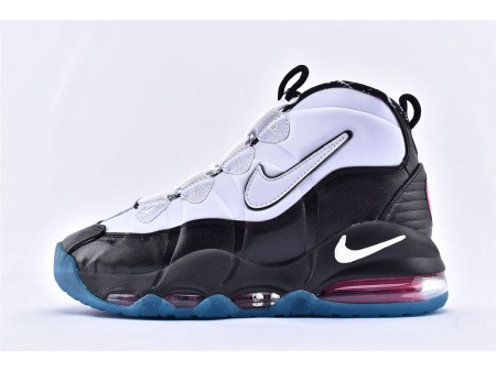 Nike Air Max Uptempo 95 Spurs South Beach Noir/Blanc/Bleu/Rose 311090-004 Homme