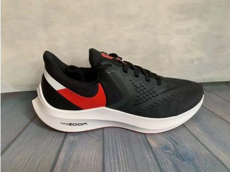 Nike Zoom Winflo 6 Noir/Rouge Université AQ7497-008 Homme