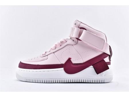 Wmns Nike Air Force 1 Jester High XX Prune Chalk Rose Rose AR0625-501 Femmes