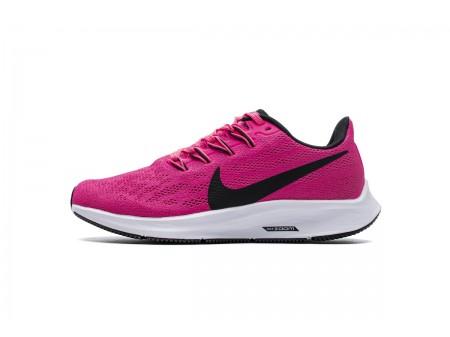 WMNS Nike Air Zoom Pegasus 36 Hyper Rose Noir AQ2210 600 Femme