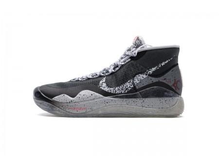 Nike Zoom KD12 EP Noir Ciment Loup Gris AR4230-002 Homme