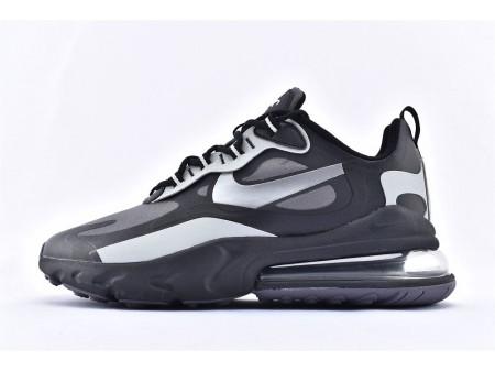 Nike Air Max 270 React WTR Noir-Argent métallique CD2049-001 Homme et Femme