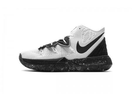 Nike Kyrie 5 EP Blanc Noir Cookies Crème AO2919 100 Hommes