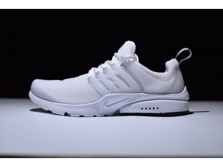 Nike Air Presto Triple Blanche Mesh 848132-100 pour homme