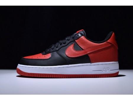 Nike Air Force 1 Af Og Chicago Bulls Noir Rouge 820266-009 pour Homme et Femme
