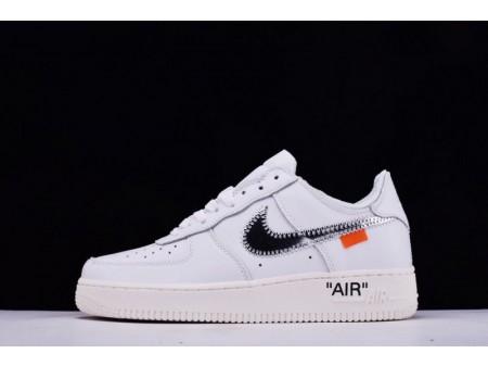 Virgil Abloh Off White X Nike Air Force 1 Low Blanche pour Homme et Femme